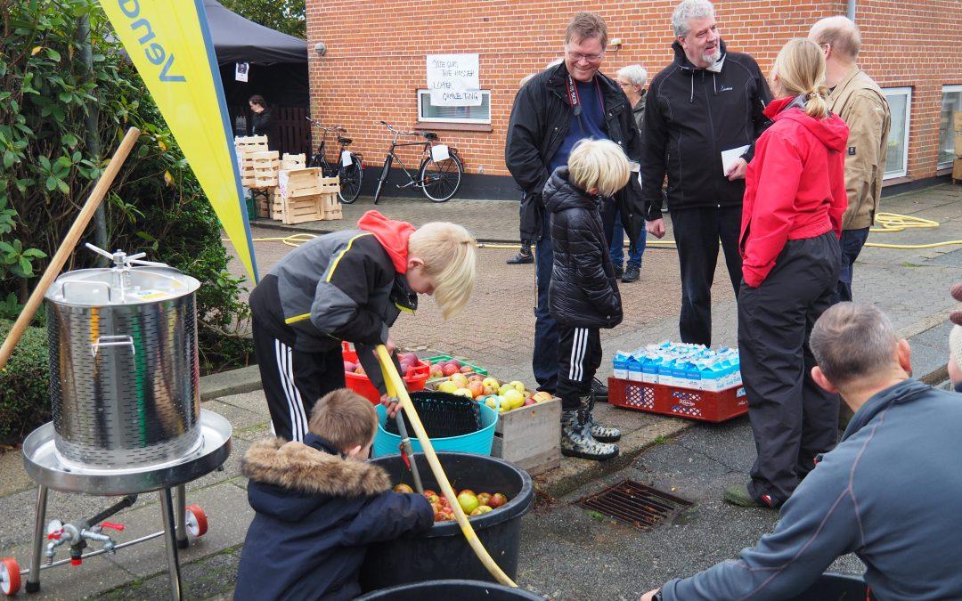 Mostning af æbler- et familie projekt!